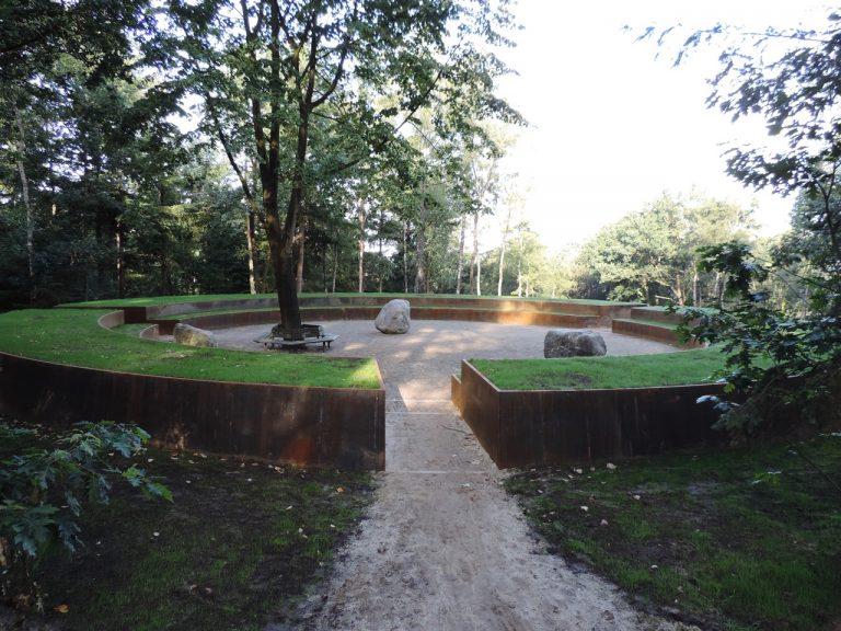 Feestelijke inhuldiging Middelpunt van Nederland