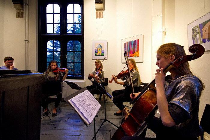 Het concert van het Helikon Kwartet drukbezocht