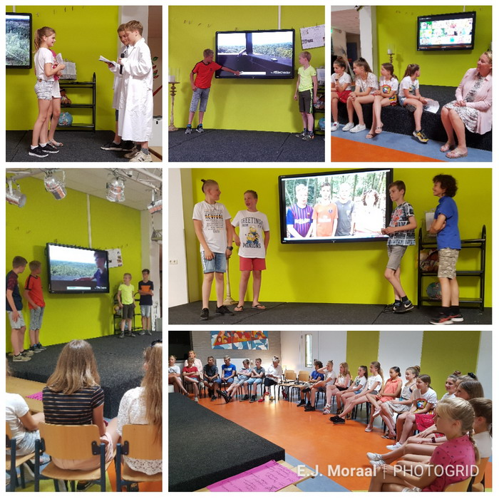 Educatieproject Museum over De Goudsberg voor Lunterse basisschool leerlingen groep 8