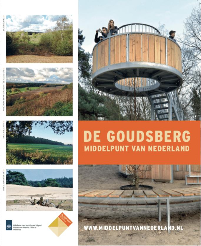 Nieuwe editie en herdruk Goudsberg wandelfolder